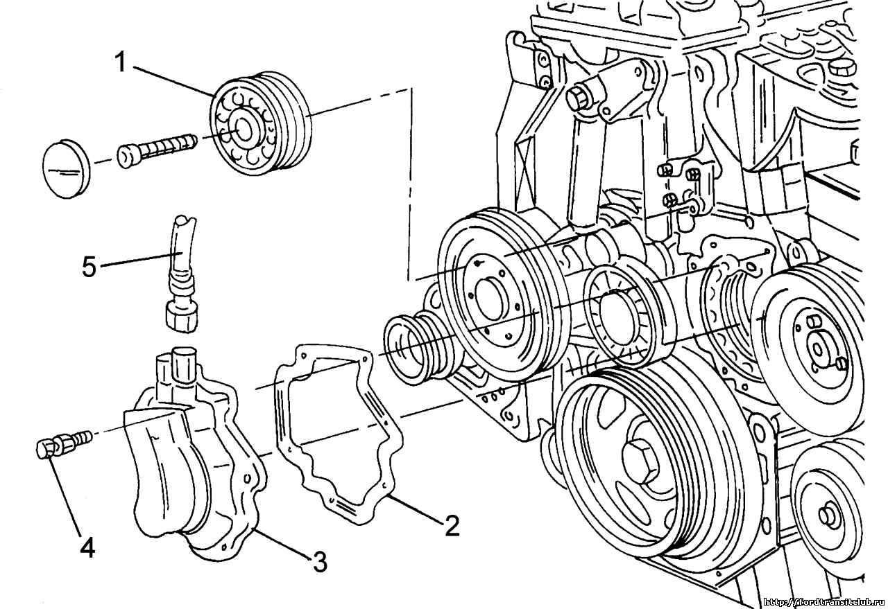 Вито 638 схема установки ремня генератора
