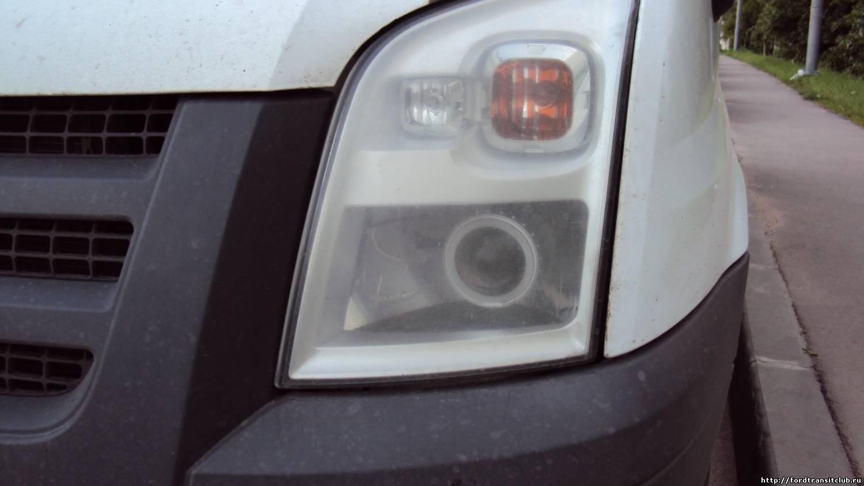 фары форд транзит 2006 тюнинг