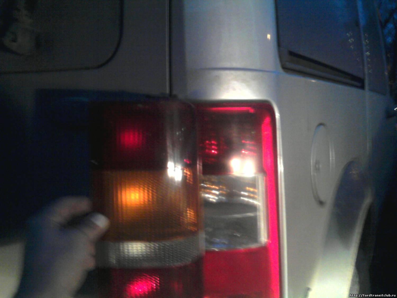 Фонарь задний форд транзит светодиодный 11 фотография